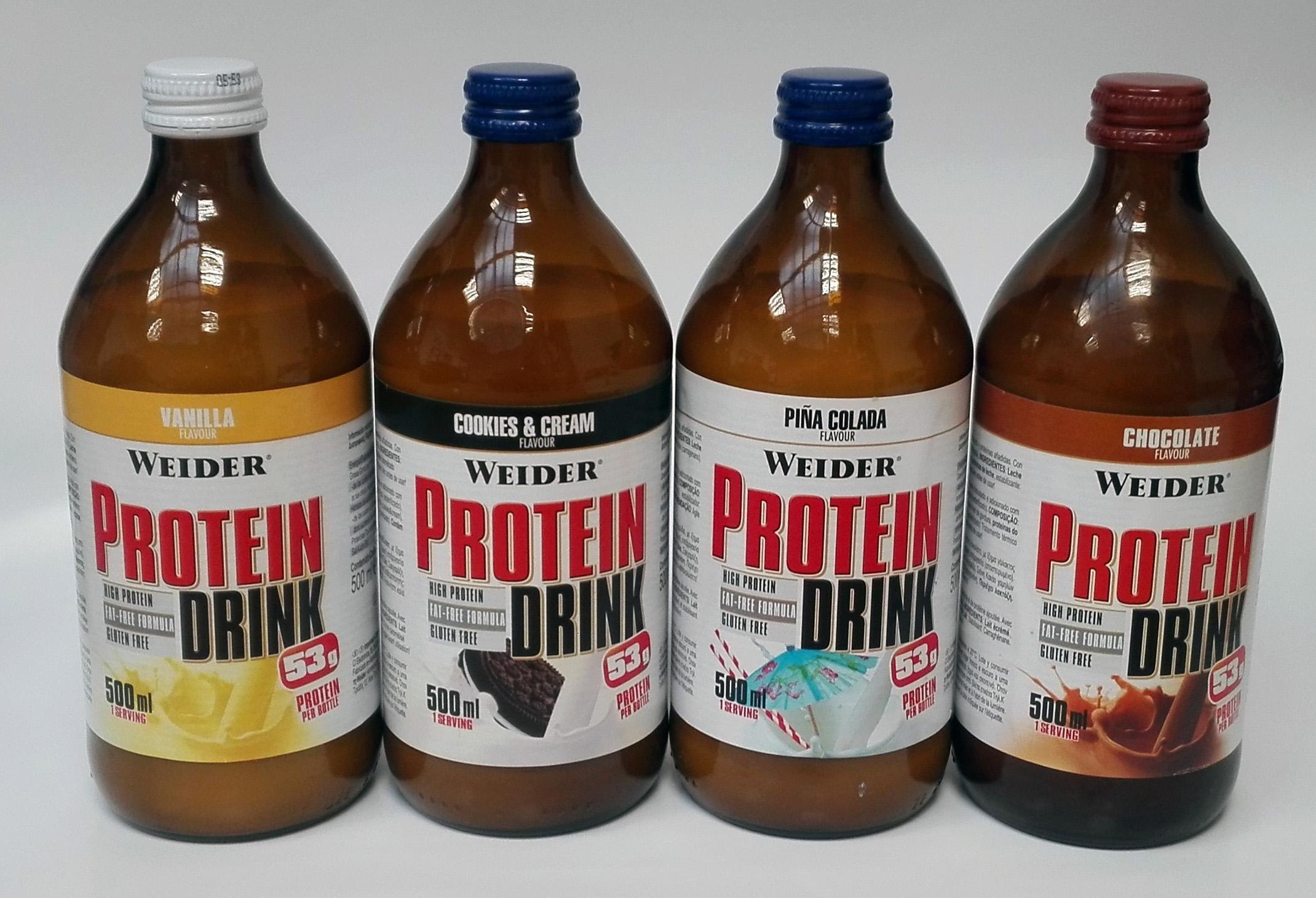 Weider, Protein Drink,  500ml,, Čokoláda