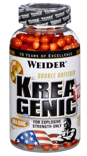 Weider, Krea-Genic+PTK, 208kapslí