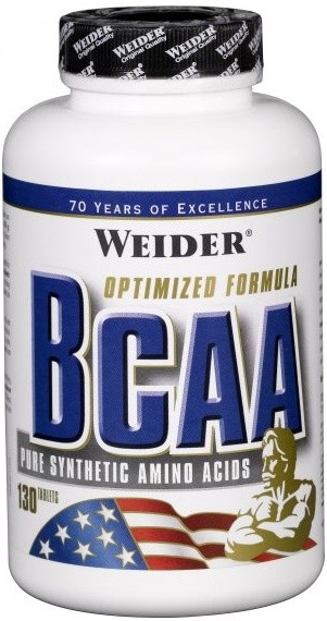 Weider, All Free Form BCAA, 130 tablet