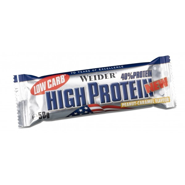 Weider, Low Carb High Protein, 50 g, Čokoláda