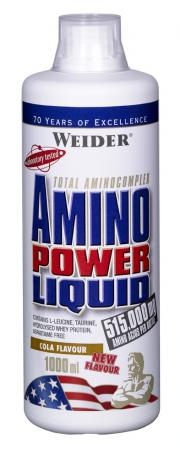 Weider, Amino Power Liquid, 1000 ml, brusinka