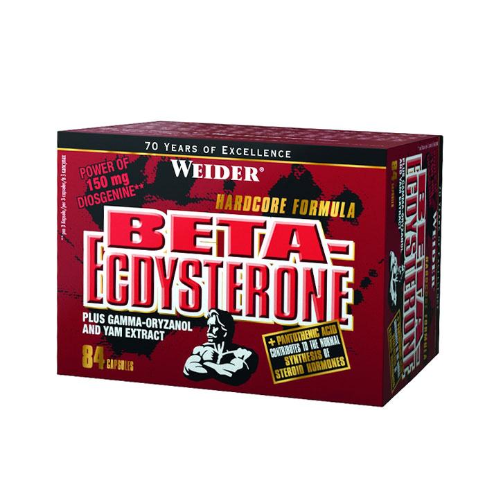 Beta-Ecdysterone, 84 kapslí, Weider