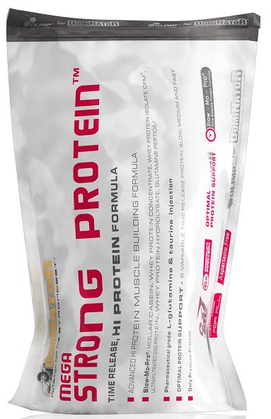 Mega Strong Protein, Olimp, 700 g, Jahoda