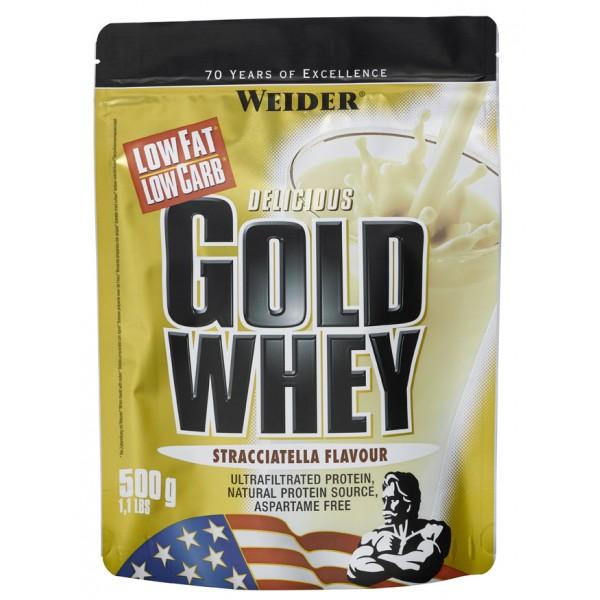 Gold Whey, syrovátkový protein, Weider, 500 g, Mango-Maracuja