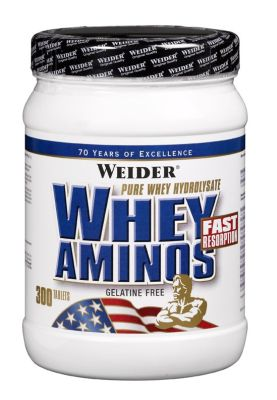 Weider, Whey Aminos, 300 tablet