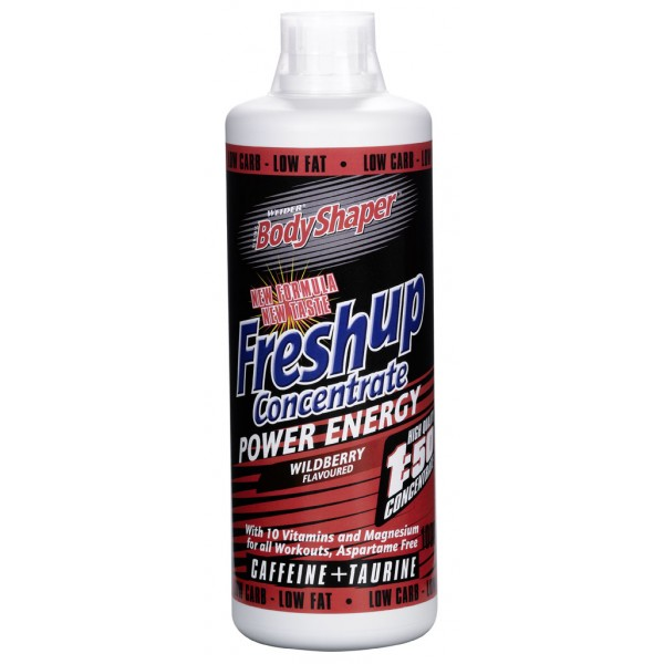 Weider, Fresh Up Power Energy, 1000ml, Wildberry