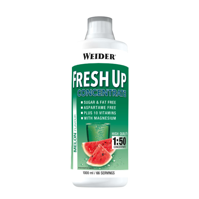 Weider, Fresh UP concentrate, 1000ml, Jahoda