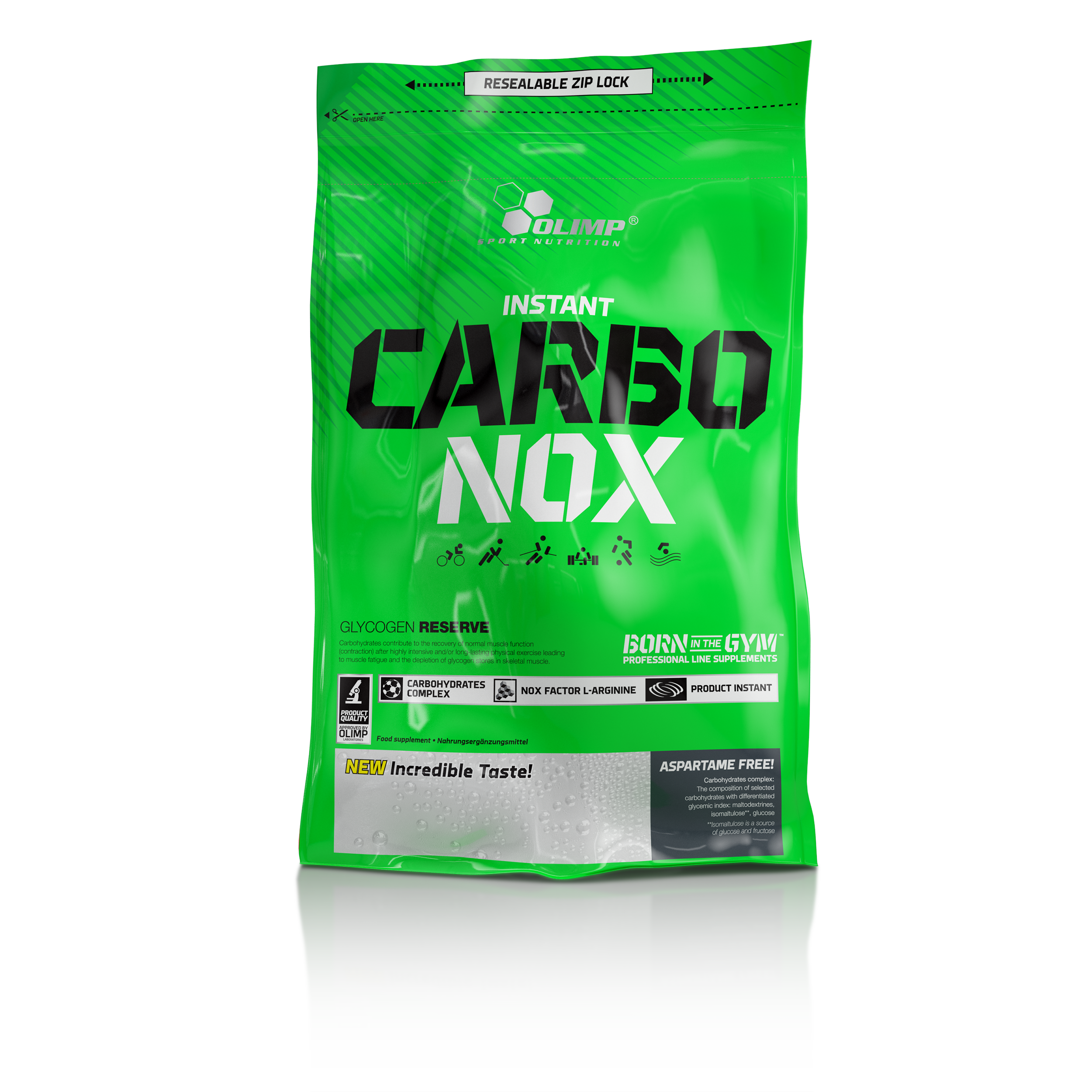 Carbo-Nox, 1000 g, Olimpp, Grapefruit