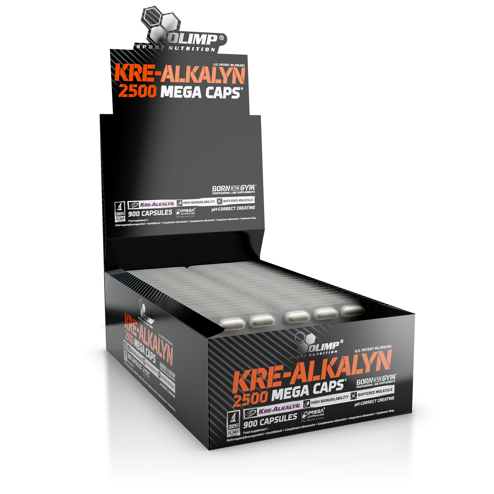 Kre-Alkalyn 2500, 30 kapslí, Olimp