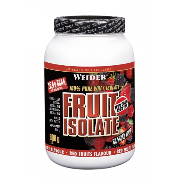 Weider, fruit Isolate, 908 g, Red Fruit