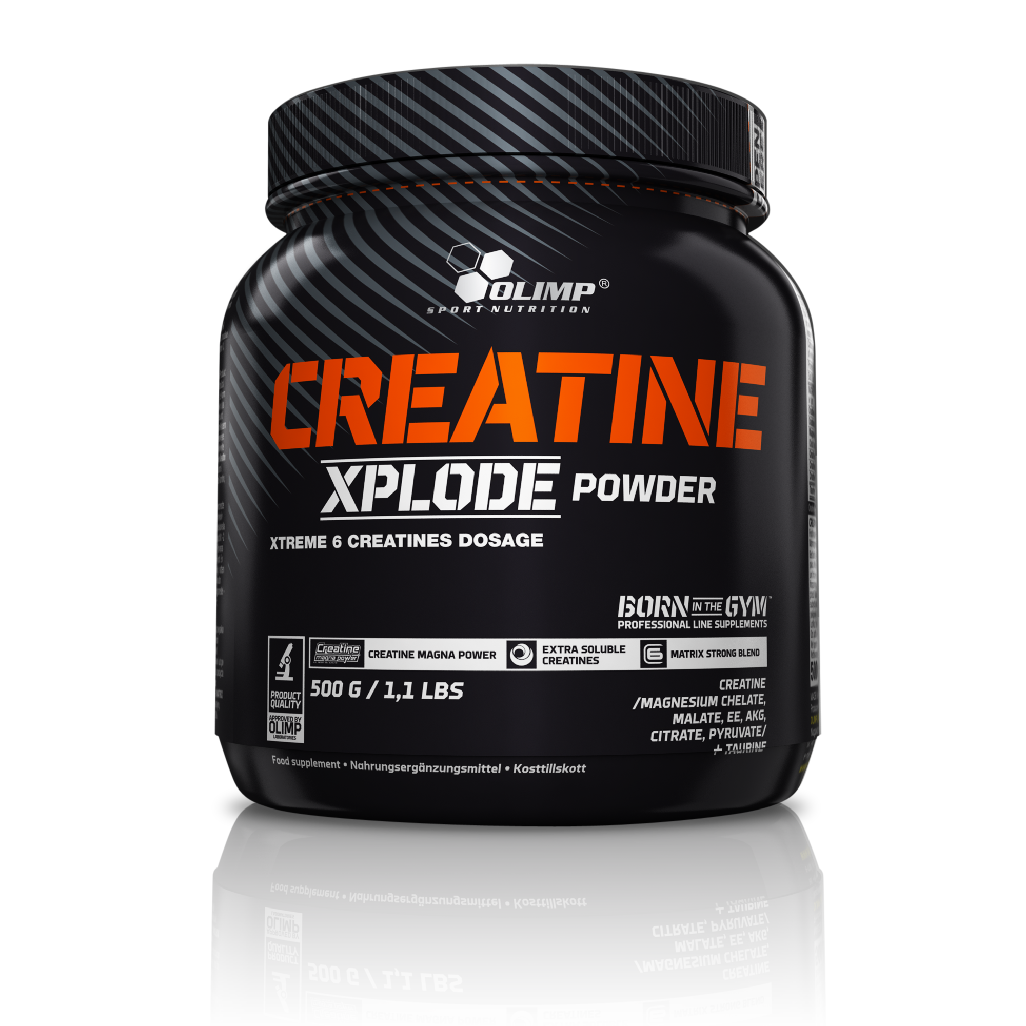 Creatine Xplode, 500 g, Olimp, Grapefruit