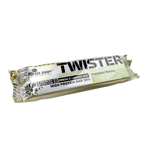 Twister High protein bar, 60g, Olimp, Pistácie