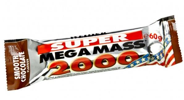 Weider, SUPER Mega Mass 2000, 60 g, Čokoláda