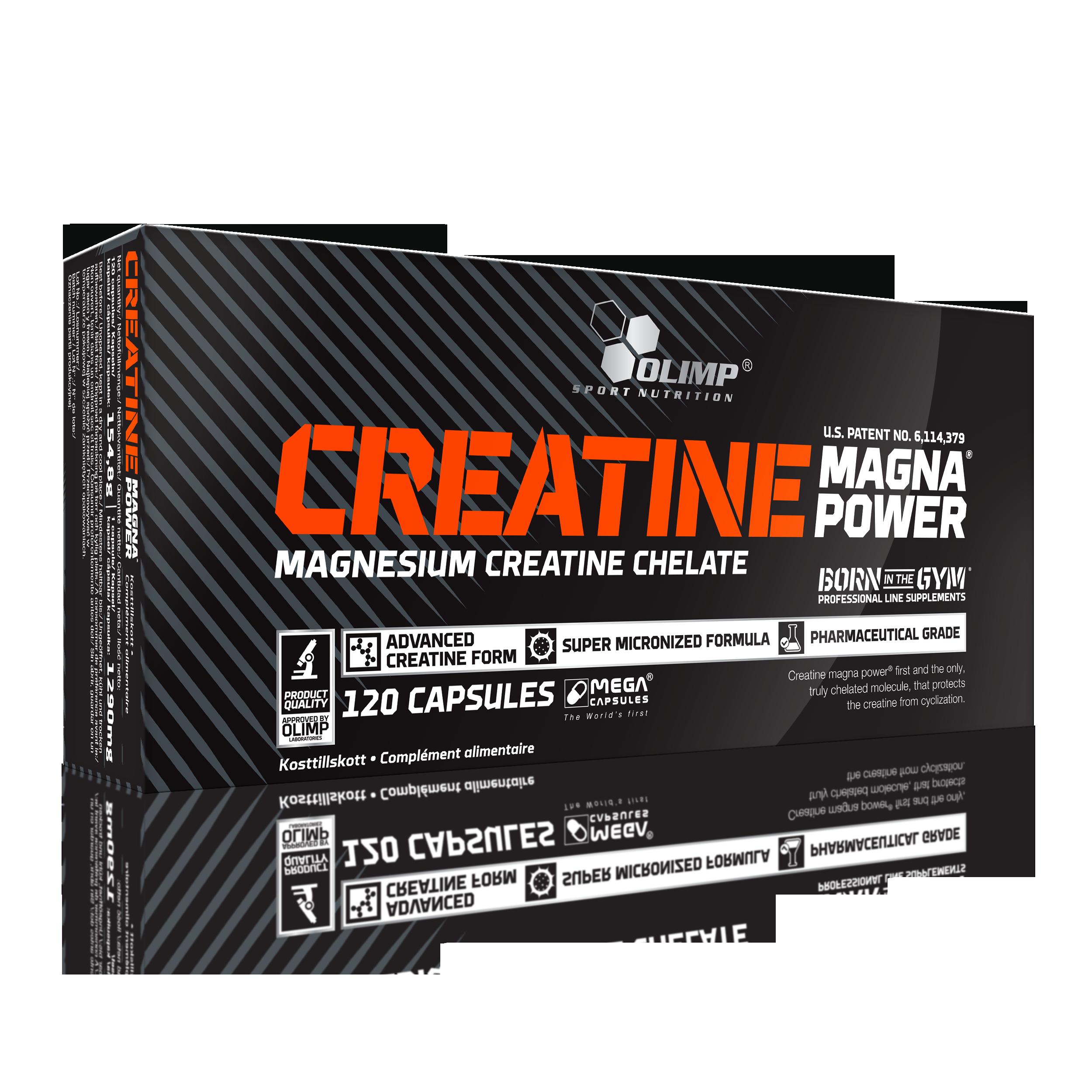 Creatine Magna Power, 120 kapslí, Olimp