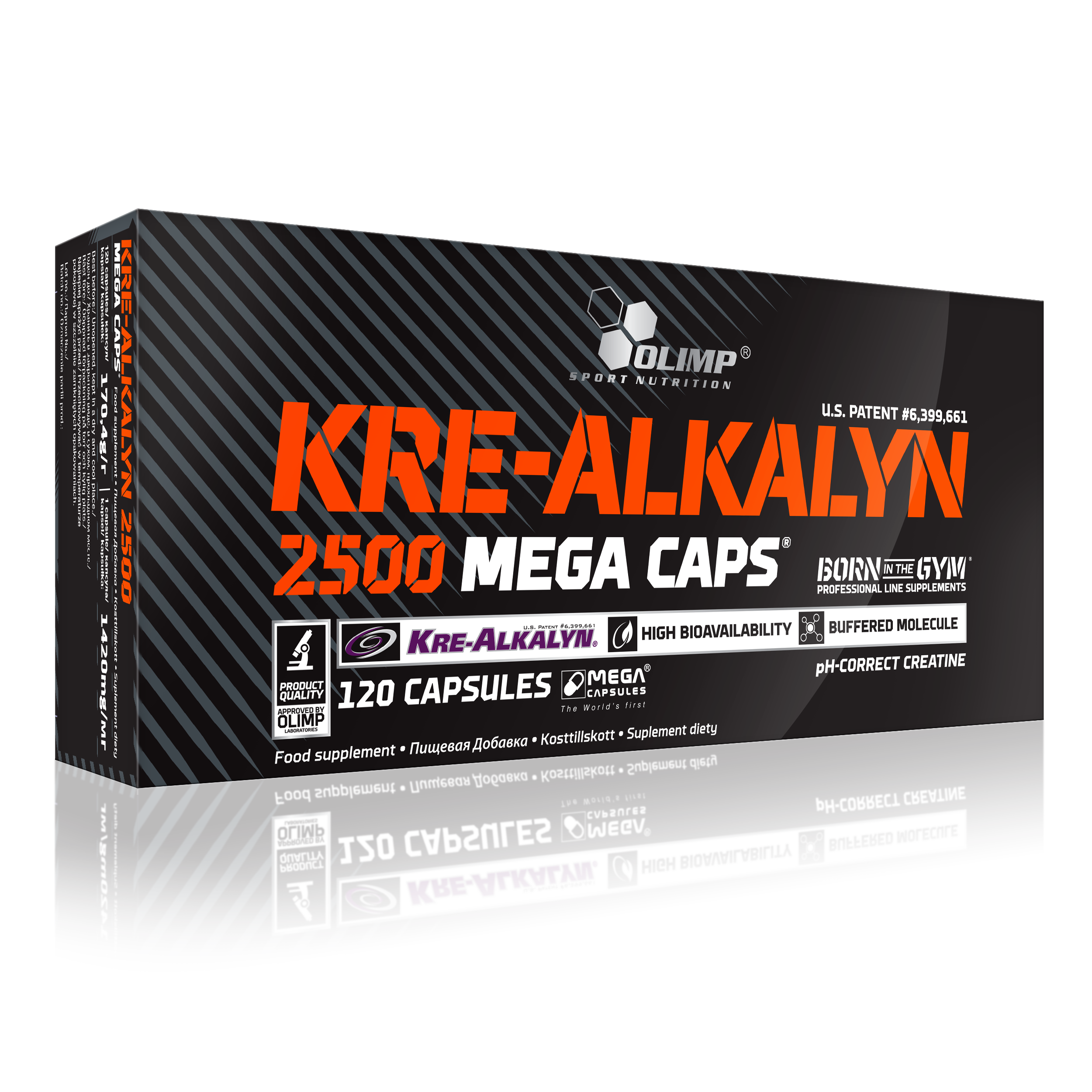 Kre-Alkalyn 2500, 120 kapslí, Olimp