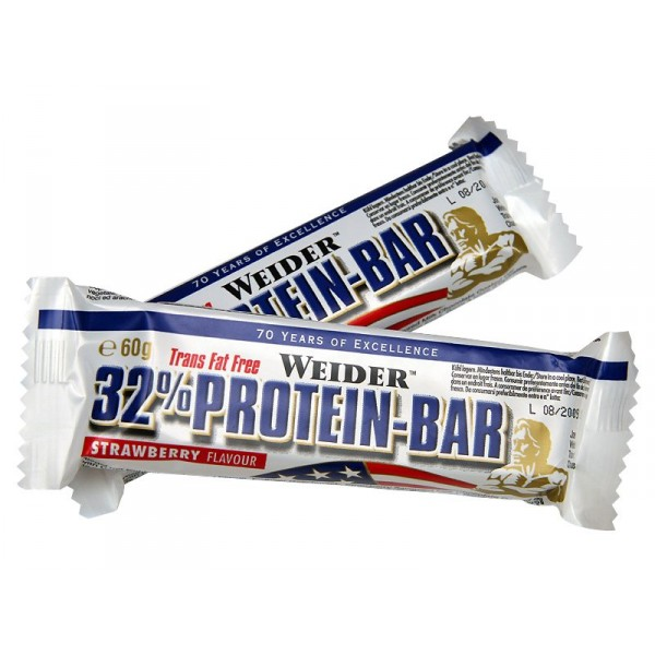 WEIDER, 32% Protein Bar, 60 g, Cookies&Cream