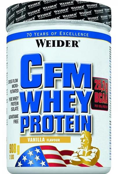 Weider, CFM Whey Protein, 908 g, Natural