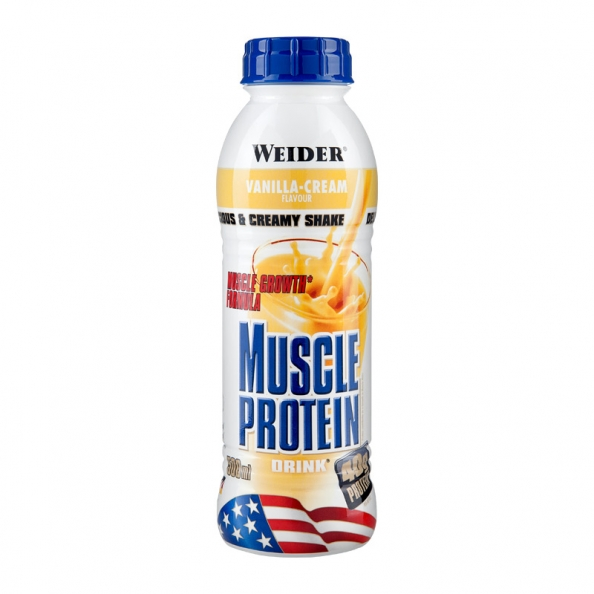 Weider, Muscle Protein Drink, 500ml, Jahoda