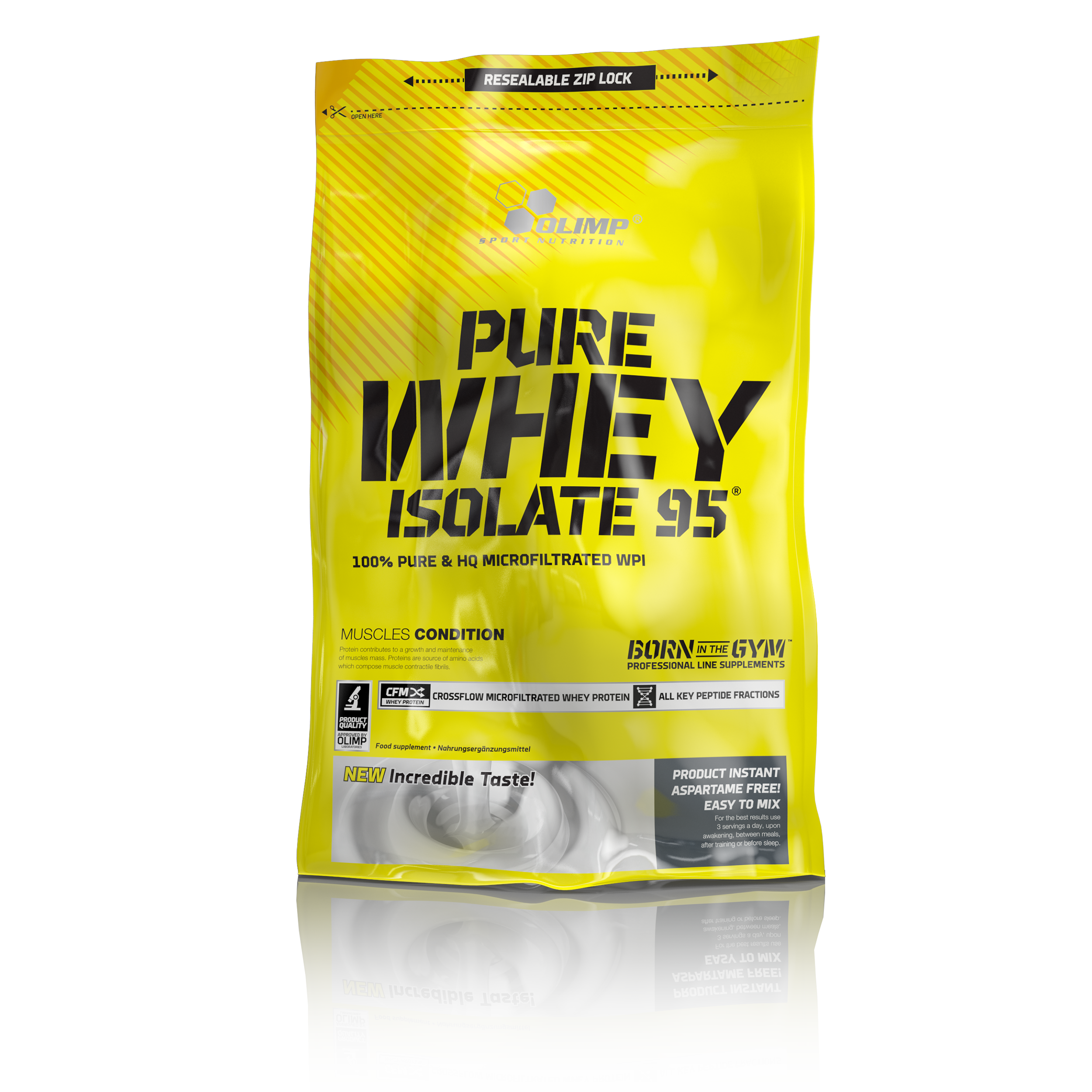 Pure Whey Isolate 95, 600 g, Olimp, Cherry jogurt