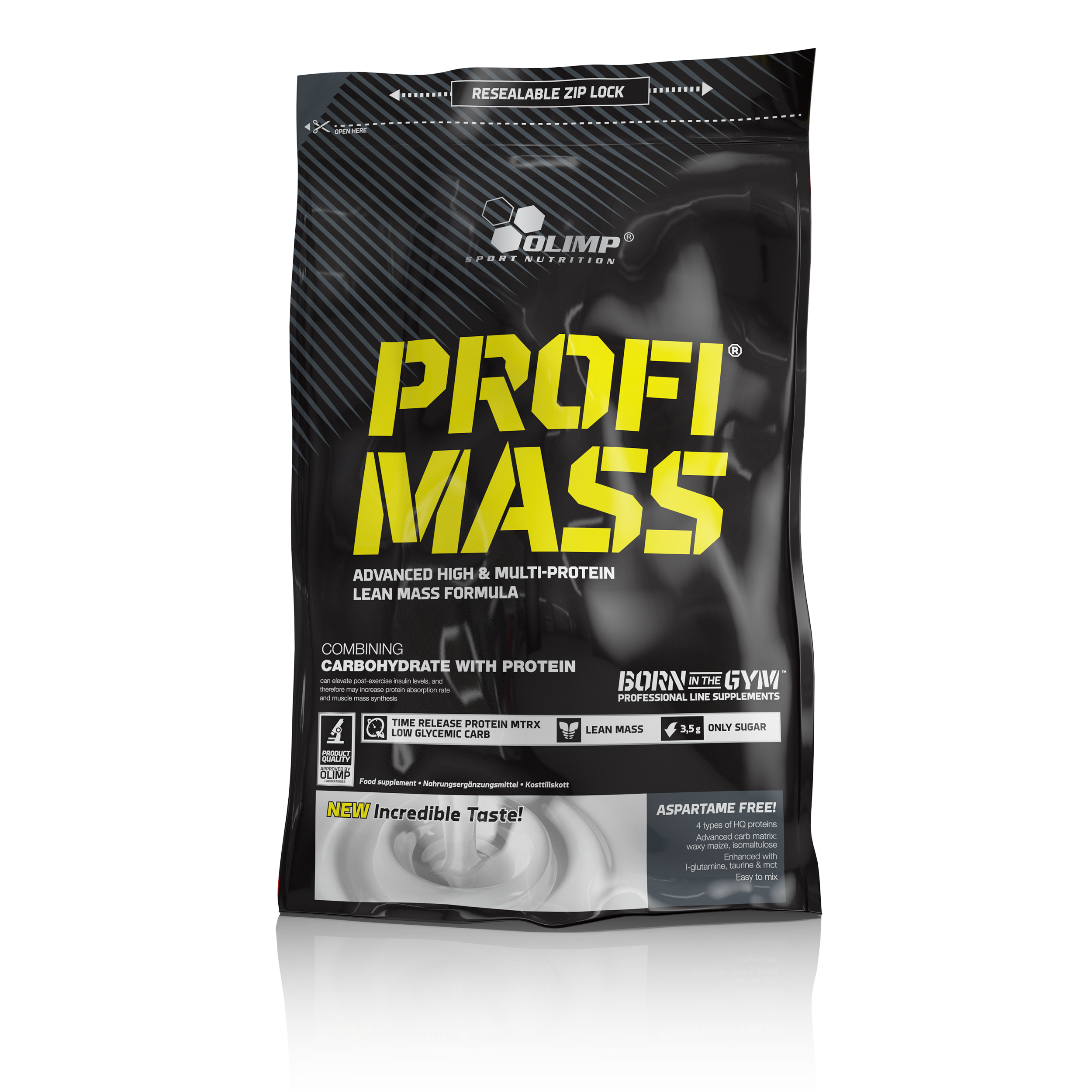 Olimp Profi Mass, Gainer, 1000 g, Tiramisu
