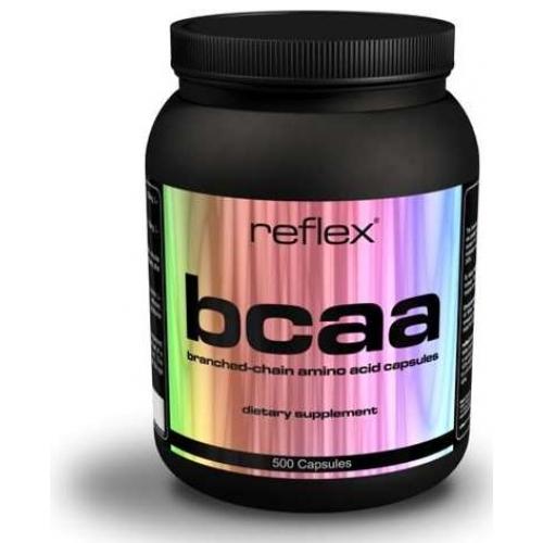 BCAA, 500 kapslí, Reflex Nutrition
