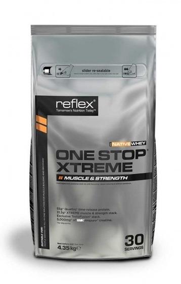One Stop Xtreme, 4,35kg, Reflex Nutrition, Jahoda