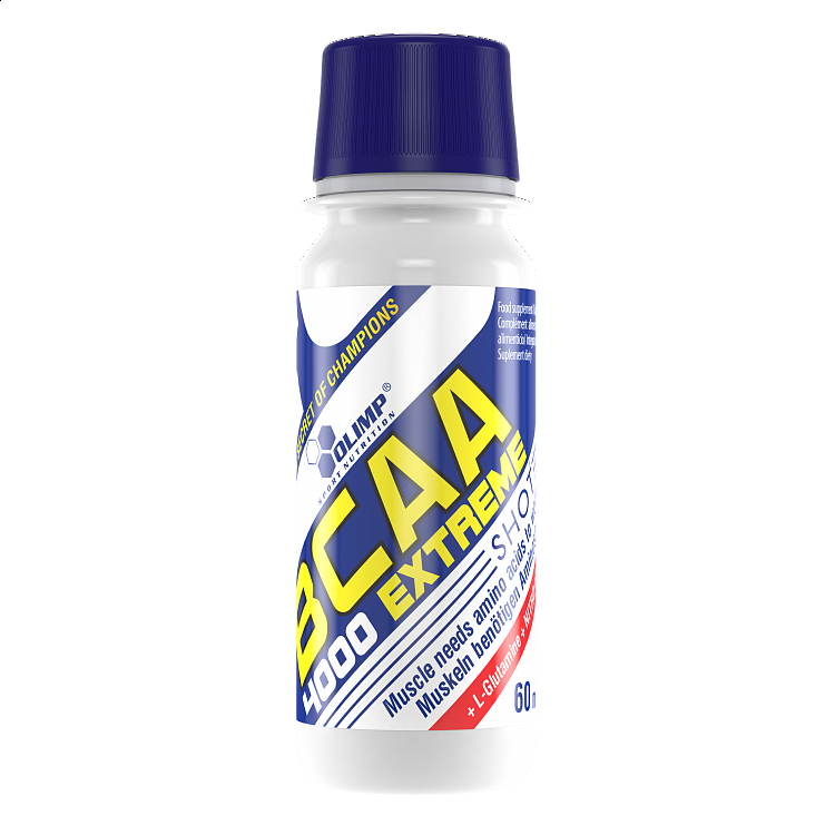 Olimp, BCAA 4000 Extreme Shot, 60 ml, Pomeranč
