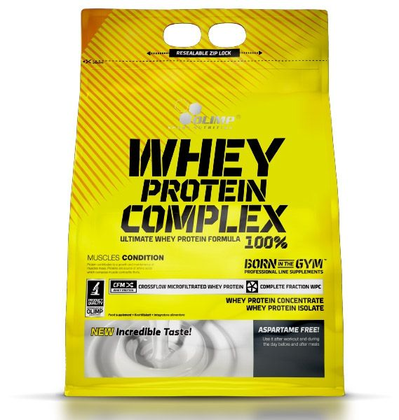Whey Protein Complex 100%, 2270 g, Olimp, Cookies - Cream