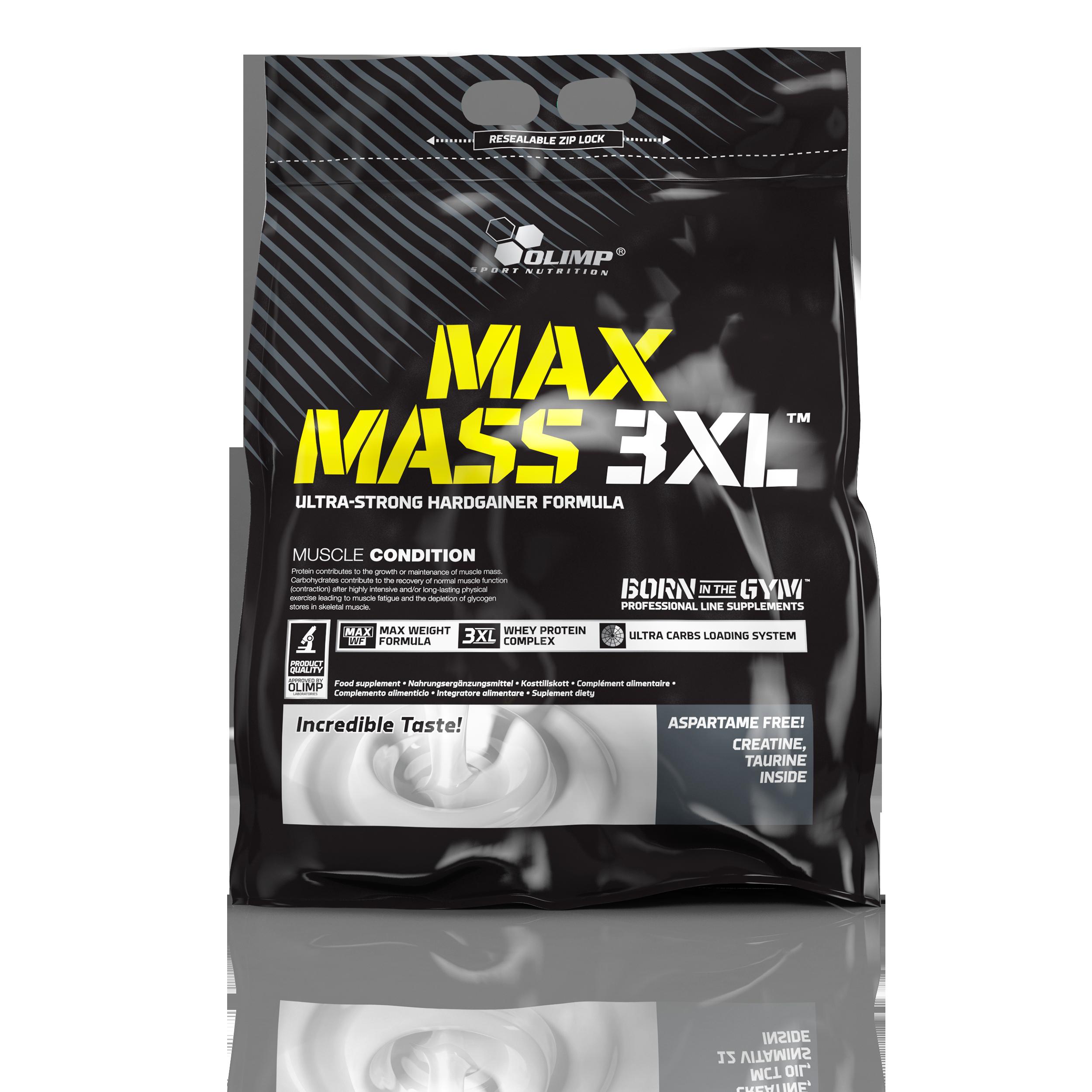 MaxMass 3XL, 6000g, Olimp, Čokoláda