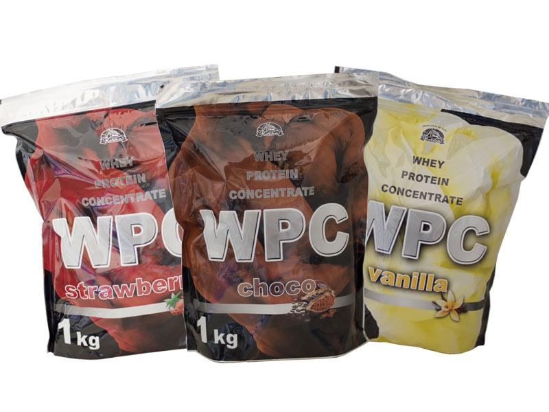 WPC 80 protein, 1000g, Koliba, Cappuccino/Cream
