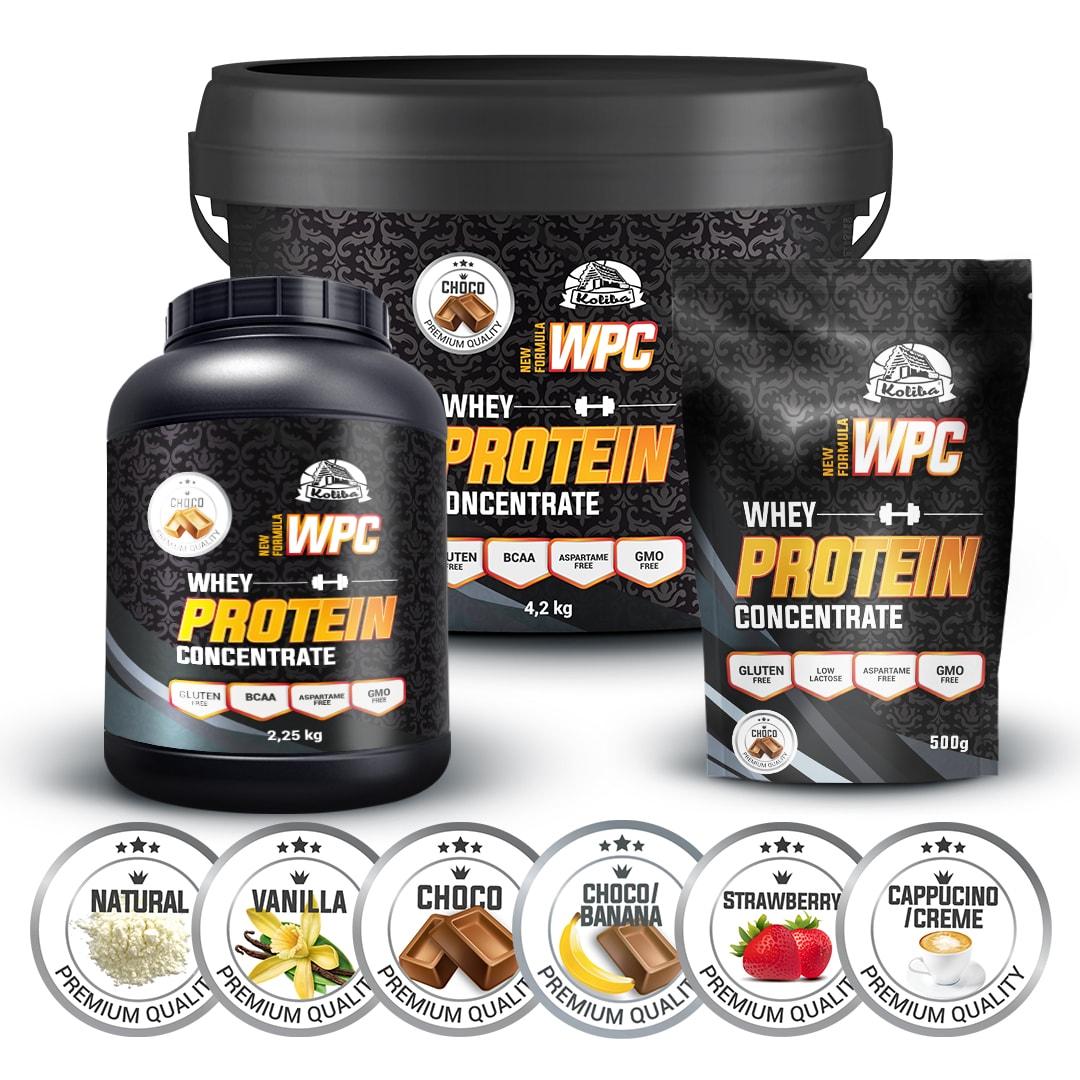 WPC 80 protein, 1000g, Koliba, Natural