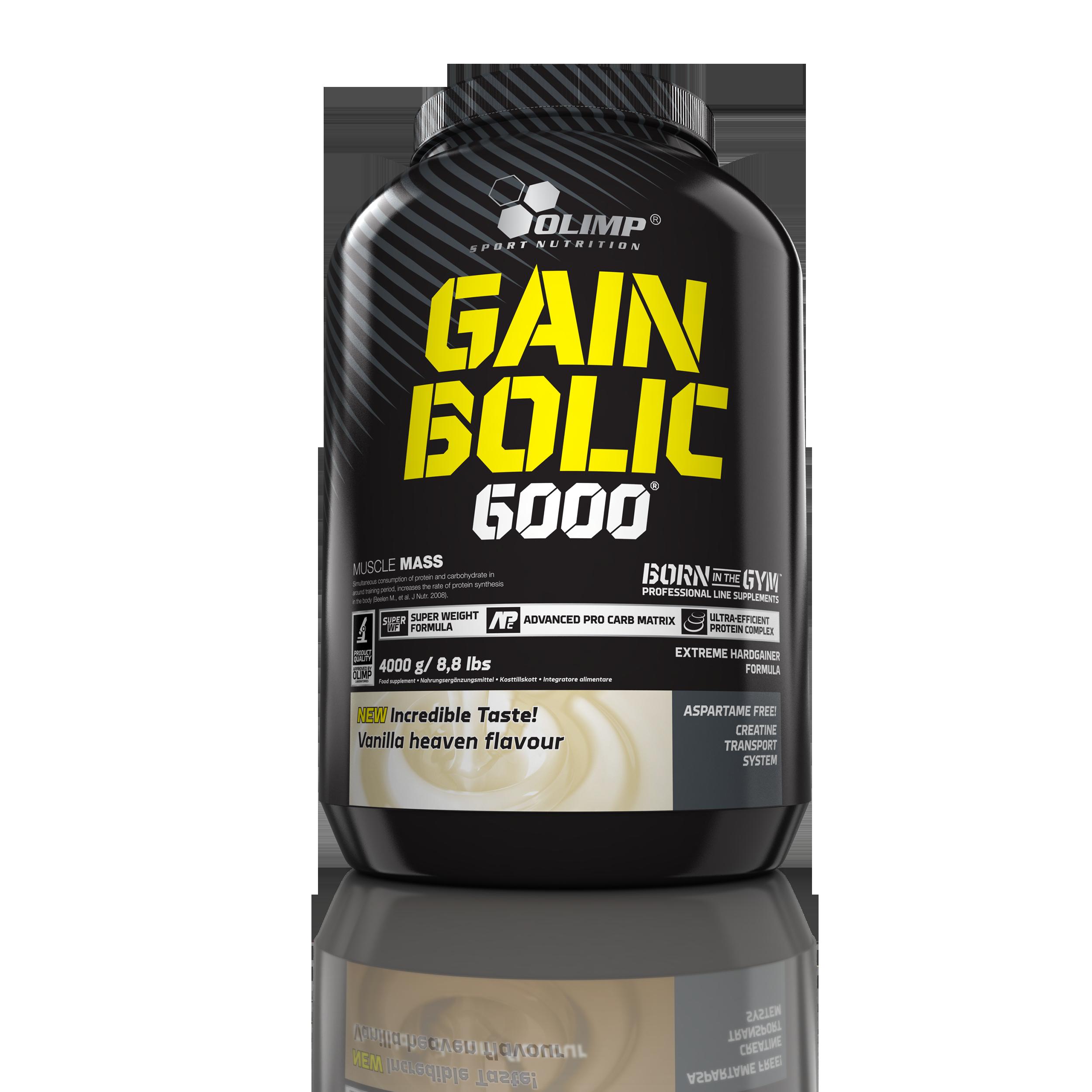 Olimp, Gain Bolic 6000, 3500 g, Vanilka