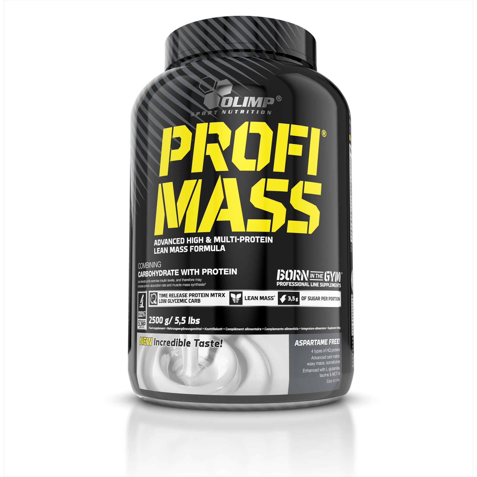 Olimp Profi Mass, Gainer, 2500 g, Tiramisu