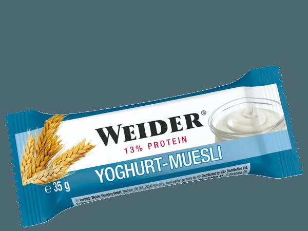 Weider, 13% Protein Fitness Bar, JOGURT-MÜSLI, 35g