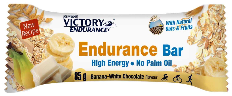 Weider, Endurance bar, high energy, 85g, Bílá čokoláda - banán