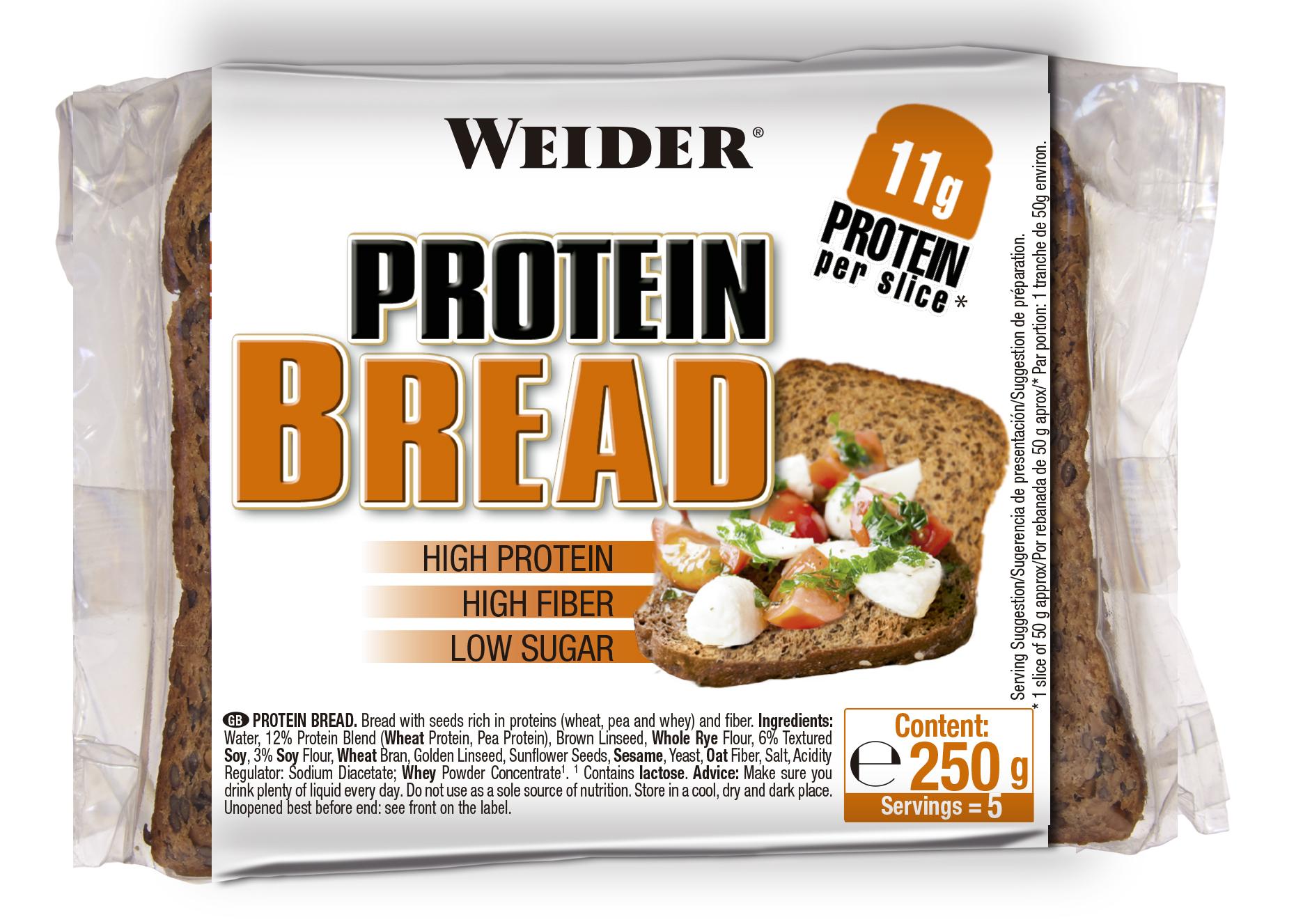 Weider, Proteinový chléb, 250g