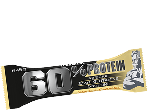Weider, 60% protein bar, 45g, Cookies Cream