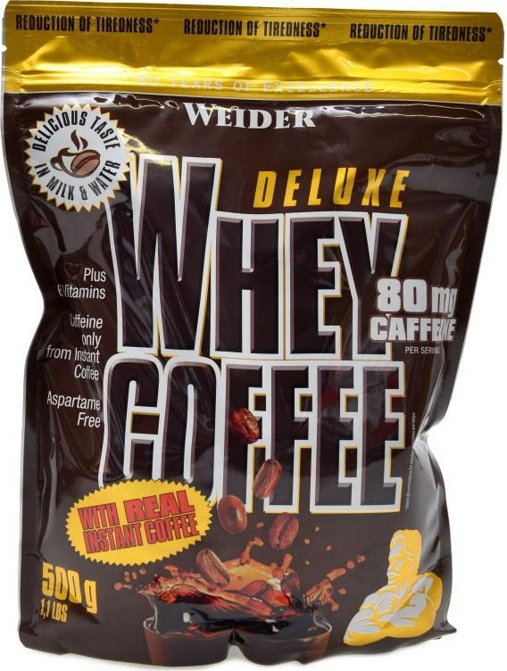 Weider, Deluxe Whey Coffee, 500 g