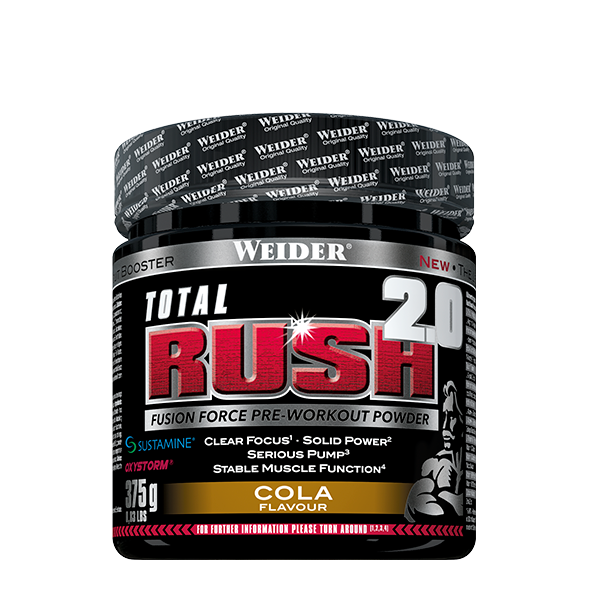 Weider Total Rush 2.0,  375g, Citron