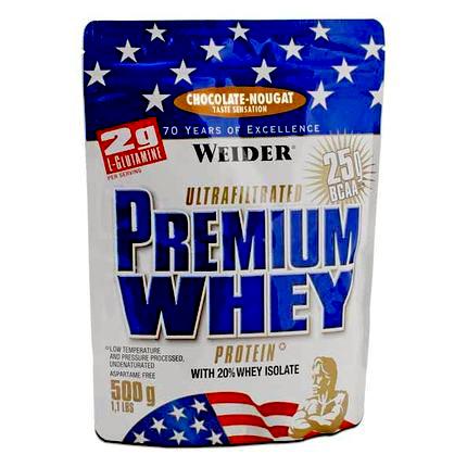 Weider, Premium Whey, 500 g, Banán