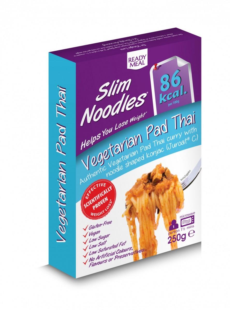 SLIM LUNCHBOX - VEGETARIANSKÉ PAD THAI NOODLES, 250 g