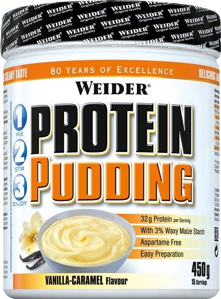 Weider Protein Pudding, 450 g, Čoko-lískový ořech