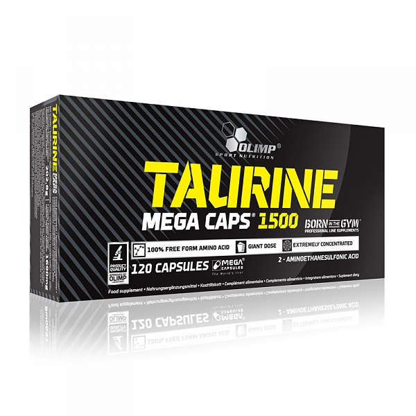 Olimp Taurine 1500 Mega Caps, 120 kps