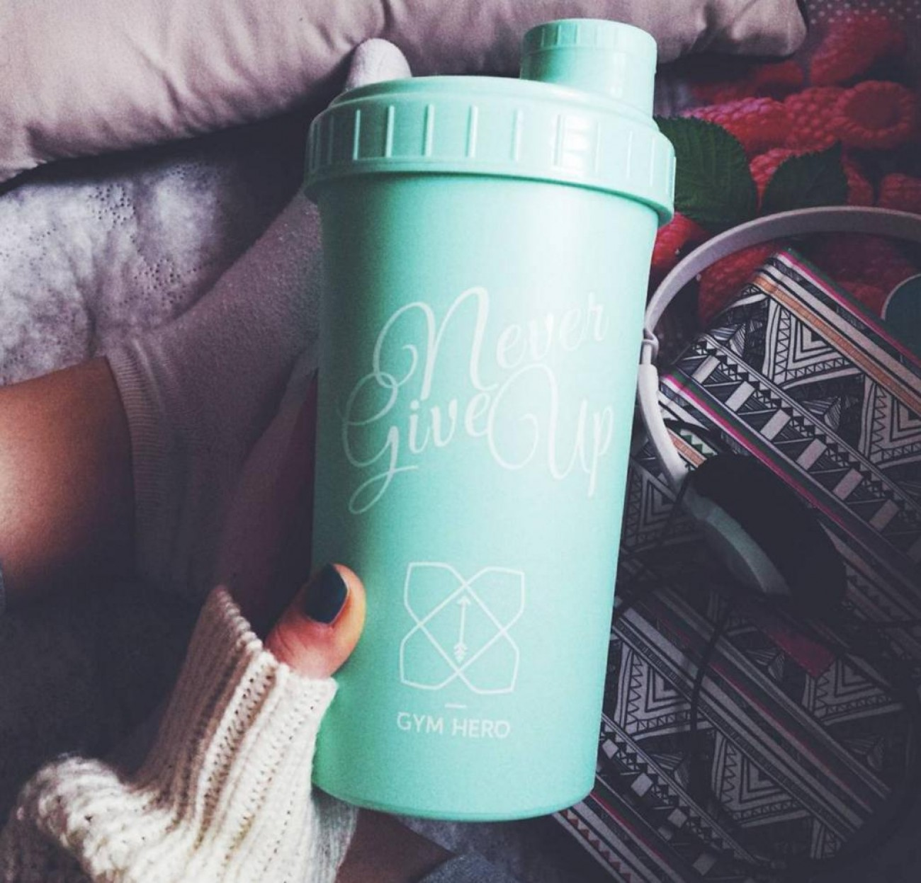 GYM HERO MINT SHAKER