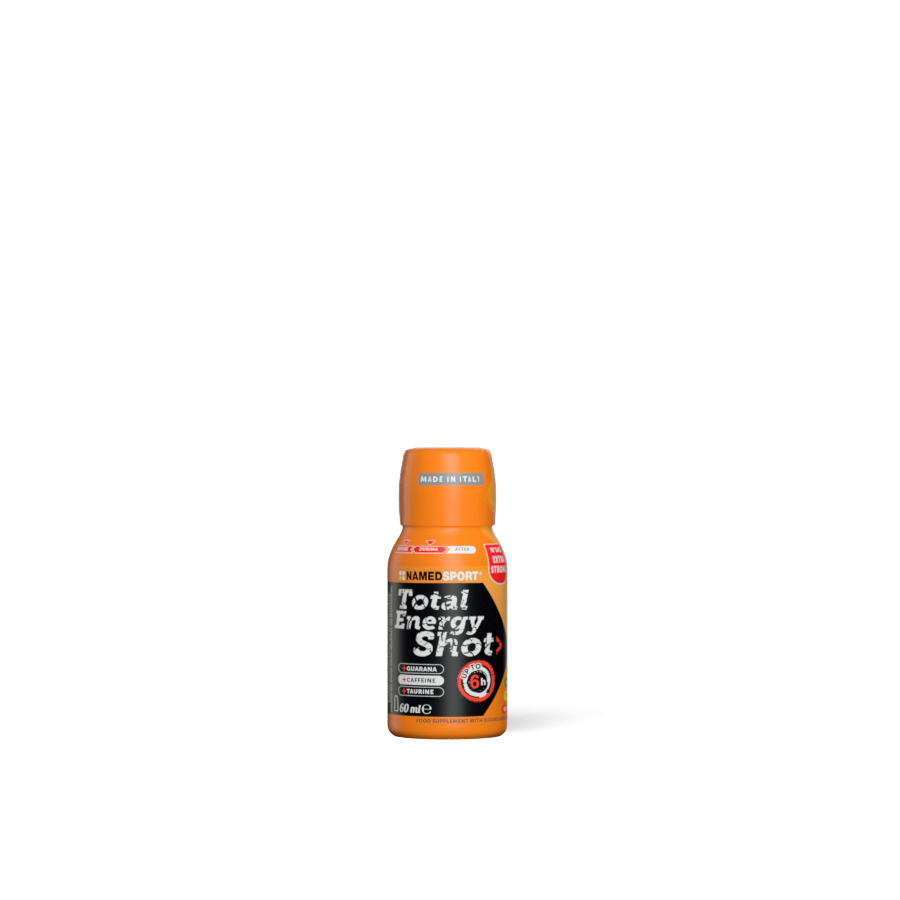 NAMEDSPORT, Total Energy Shot, Orange, 60 ml