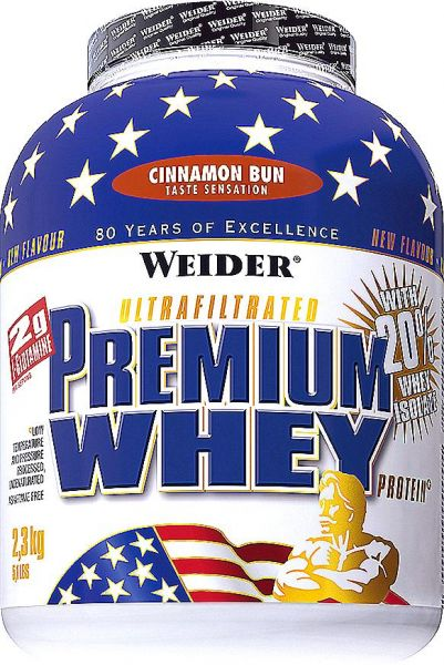 Weider, Premium Whey, 2300 g Skořice