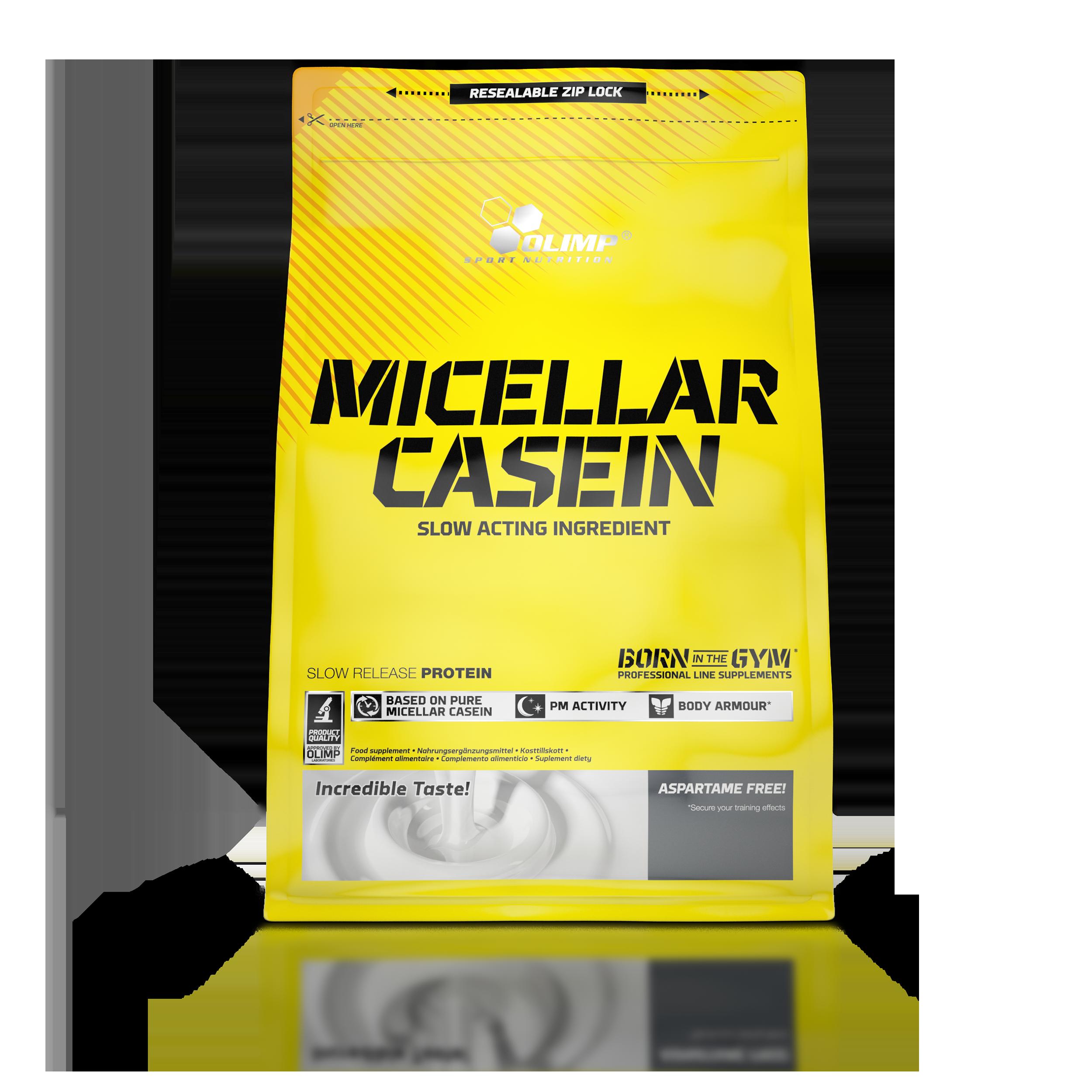 Olimp MICELLAR CASEIN, 600g, Arašídové máslo