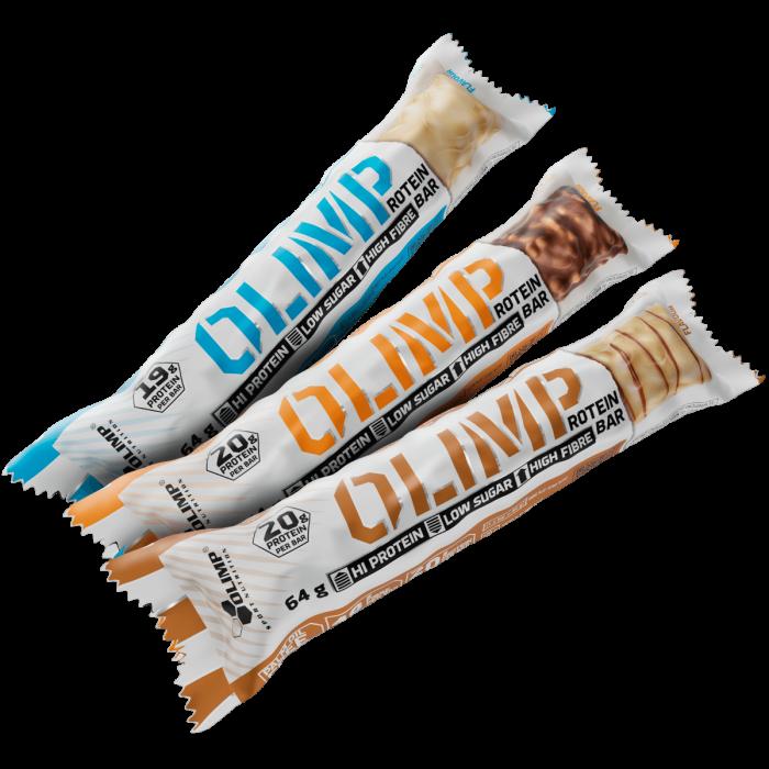 OLIMP PROTEIN BAR, tyčinka 20g proteinu, 64 g, Cherry Heaven