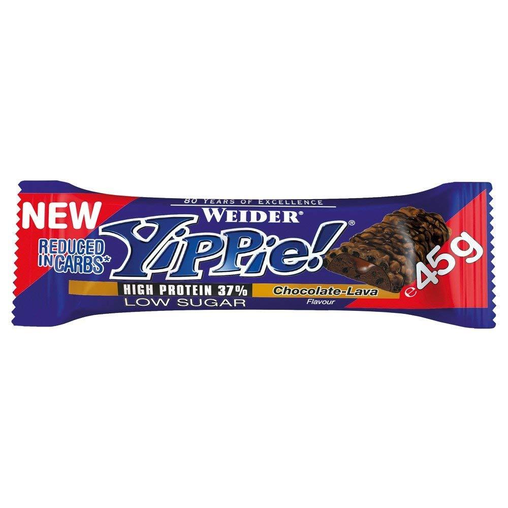 Weider Yippie tyčinka protein 36%, 45g, chocolate lava - expirace 02/2018