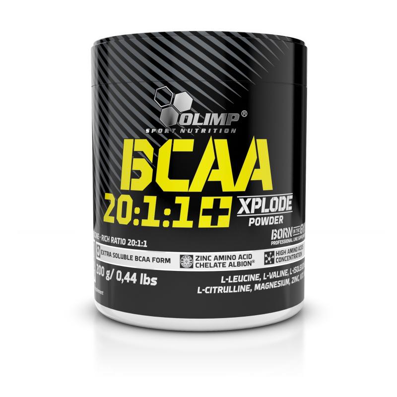 Olimp BCAA 20:1:1 Xplode, 200 g, Cola